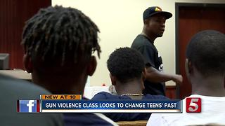 Gun Violence Class Looks To Change Teens' Future - Video