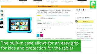Amazon's kid safe tablet - Video