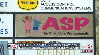 After School Programs responds to child's sexual assault - Video