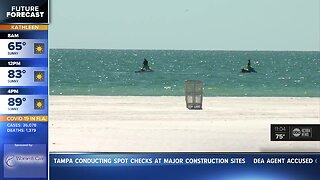 Clearwater Beach opening Monday