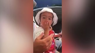 Toddler's Nose Makes A Funny Sound - Video