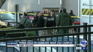 3 dead, including CSU student, in Fort Collins shooting near campus - Video
