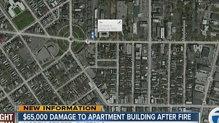 Thousands of dollars worth of damage to Buffalo apartment building