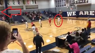 Miraculous full court shot wins championship game! - Video