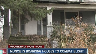 Muncie boarding houses to combat blight - Video