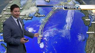 Tropical depression 19 forms in the central Atlantic - Video
