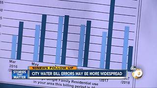 City water bill errors may be more widespread - Video