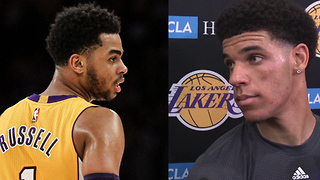 Lonzo Ball SNEAK DISSES D'Angelo Russell - Video