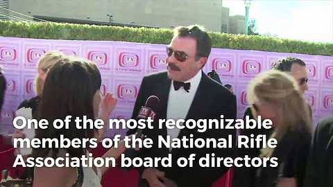 Actor Tom Selleck Resigns From NRA Board of Directors