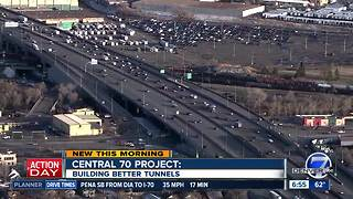 CDOT's Central 70: Building better tunnels - Video