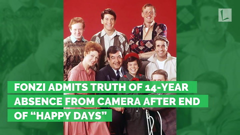 """Fonzi Admits Truth of 14-year Absence from Camera after End of """"Happy Days"""""""