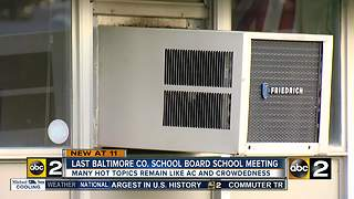 13 Baltimore County schools to begin year without A/C - Video
