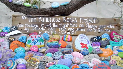 "These ""Kindness Rocks"" Are Starting A Happiness Movement!"