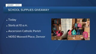 Need school supplies? There's a giveaway in Denver