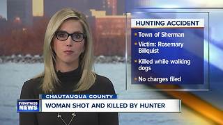 Deputies: woman dies after hunting accident - Video