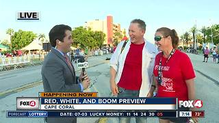 Celebrating the Red, White, and Boom in Cape Coral -- 7am live report - Video