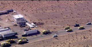 UPDATE: 2 dead after small plane crashes in southwest area of Las Vegas