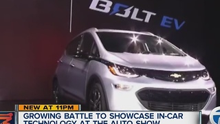 Growing battle between NAIAS and CES - Video
