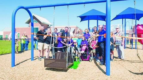 Girl Lobbies Schools For Wheelchair-Accessible Playgrounds