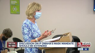 Omaha mask mandate may be extended through at least 2020