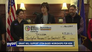 Reuseum Educational receives a $35K grant - Video