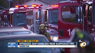 "Investigators calling fire in Webster ""suspicious"" - Video"