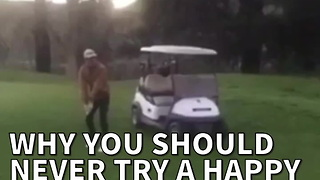 Why You Should Never Try A Happy Gilmore Shot In 6 Seconds - Video
