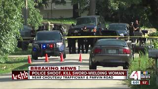 Police shoot, kill sword-wielding woman in the Northland - Video