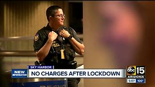 Man accused of lockdown at Sky Harbor won't be charged - Video
