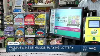 Naples woman wins $5 million playing lottery
