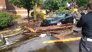RAW: Facebook Live video of storm damage in Sandusky - Video