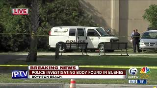 Body found in Boynton Beach - Video