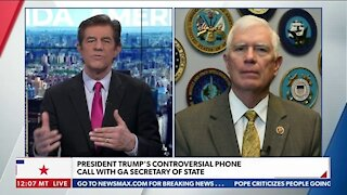 President Trump's Controversial Phone Call with GA Secretary of State