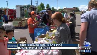 Kids Fest summer food program kicks off Tuesday in Aurora - Video
