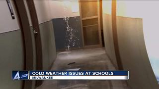 Winter Woes: Schools shut down over broken pipes, no heat - Video