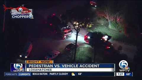 Child hit by vehicle in Loxahatchee