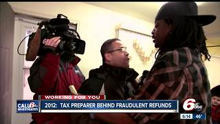 Call 6 Investigates looks back at a tax preparer that was overpromising tax refunds - Video
