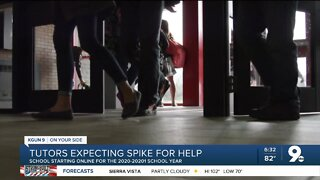 Tutors expect spike in students needing help with school