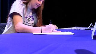 Maren Geiger LOI signing - Video