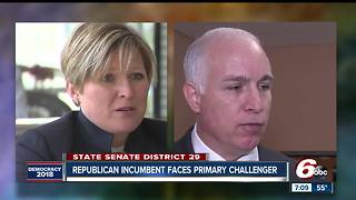 GOP Incumbent Mike Delph faces challenger in May primary - Video
