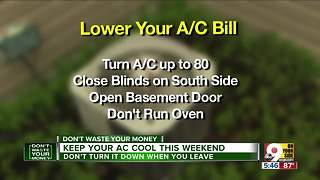 Hot enough for ya? Tips to lower your A/C bill