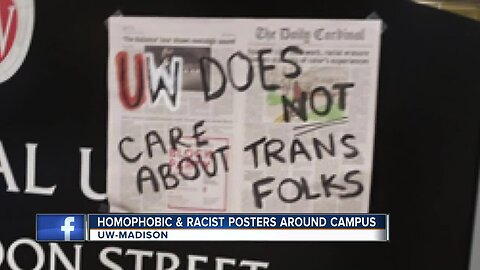 Posters with hurtful messages found around UW-Madison campus
