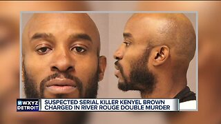 Kenyel Brown charged in connection to 2 River Rouge murders