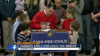 WI hires extra staff to handle child tax rebate claims - Video