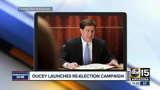 Governor Ducey launches re-election campaign - Video