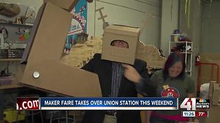 Maker Faire returns to Union Station this weekend for 7th annual event - Video