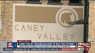 Caney Valley teacher accused of bullying student - Video