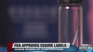 FDA approves labeling changes for Essure - Video
