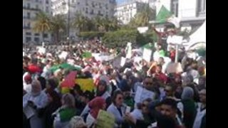 Protests Continue in Algiers Against President Extending Fourth Term - Video