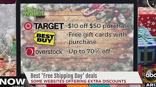 Last minute shoppers, looking for a bargain? - Video